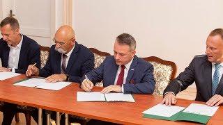 Podpisanie porozumienia w sprawie współpracy w zakresie szkolnictwa dualnego