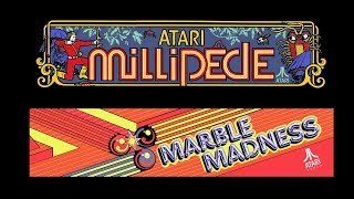 Marble Madness / Millipede (Arcade) Mike Matei Live
