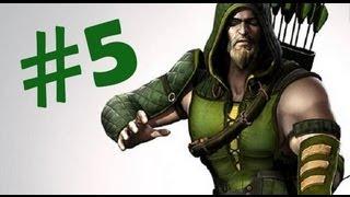 Injustice: Gods Among Us - Modo Historia - Flecha Verde - Parte 5 (PS3,XBOX)