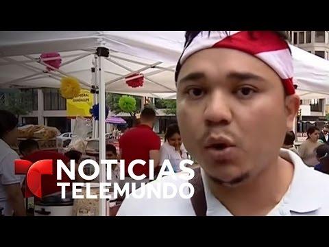 Jornada de protestas en Dallas por la comunidad inmigrante | Noticiero | Noticias Telemundo