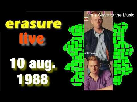Erasure 10 aug.1988.-(charity gig) Royal Court, Peterboro UK