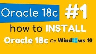 Як встановити бази даних Oracle 18С на Windows 10 на Маніш Шарму