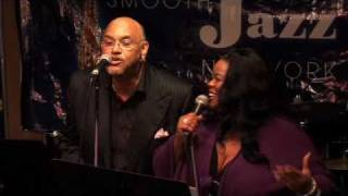Maysa and Phil Perry perform