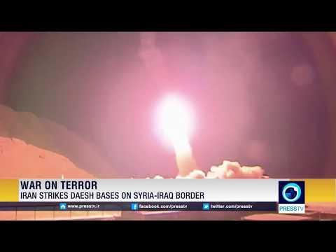 Iran Strikes ISIS Bases On Syria-Iraq Border
