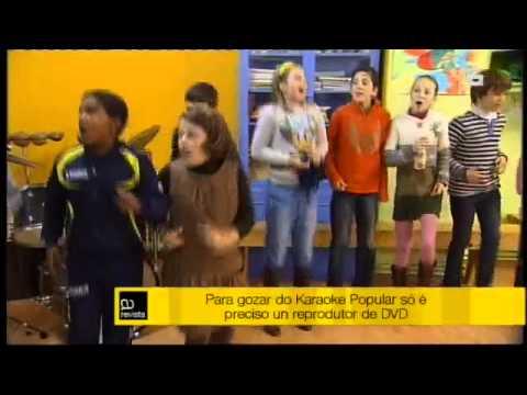 """Sae á venda un DVD con cancións tradicionais galegas en formato karaoke """"Karaoke Popular"""""""