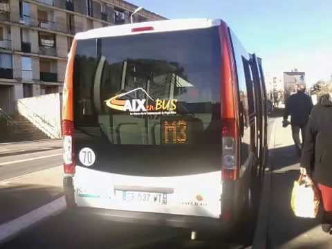 sound bus dietrich city 21 n 122026 du r seau aix en bus sur la ligne m3 youtube. Black Bedroom Furniture Sets. Home Design Ideas