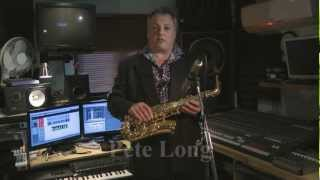 JP245 alto saxophone demonstration by Pete Long - John Packer Ltd