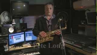 JP245 alto saxophone demonstration by Pete Long - John Packer Ltd