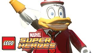 LEGO Marvel Superheroes:HOWARD THE DUCK Gameplay