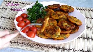 Patates köftesi tarifi -En kolay nefis patates köftesi nasıl yapılır-Yemek tarifleri-Kibarin Mutfagi