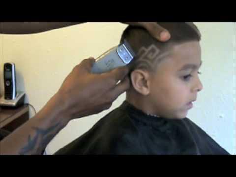 Kaliq Designs Haircuts For The Children Youtube