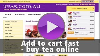 Add to Cart Fast - Buy Tea Online