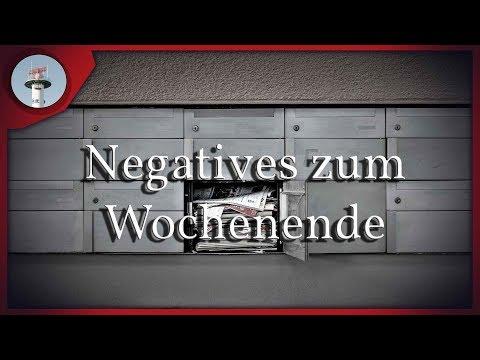 0 - Negatives zum Wochenende