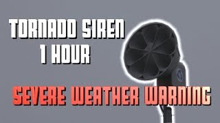 #severe weather siren