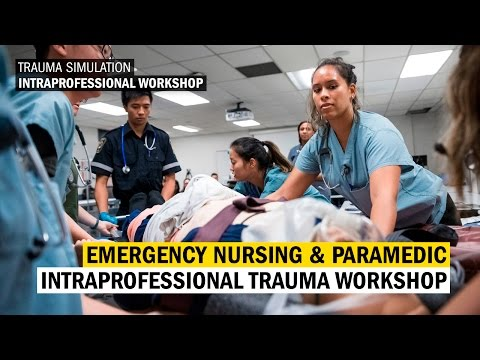 Emergency Nursing and Paramedic Intraprofessional Workshop