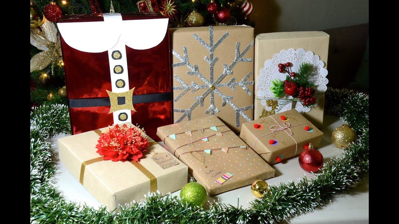 6 ideas creativas para envolver tus regalos de navidad for Decorar regalos