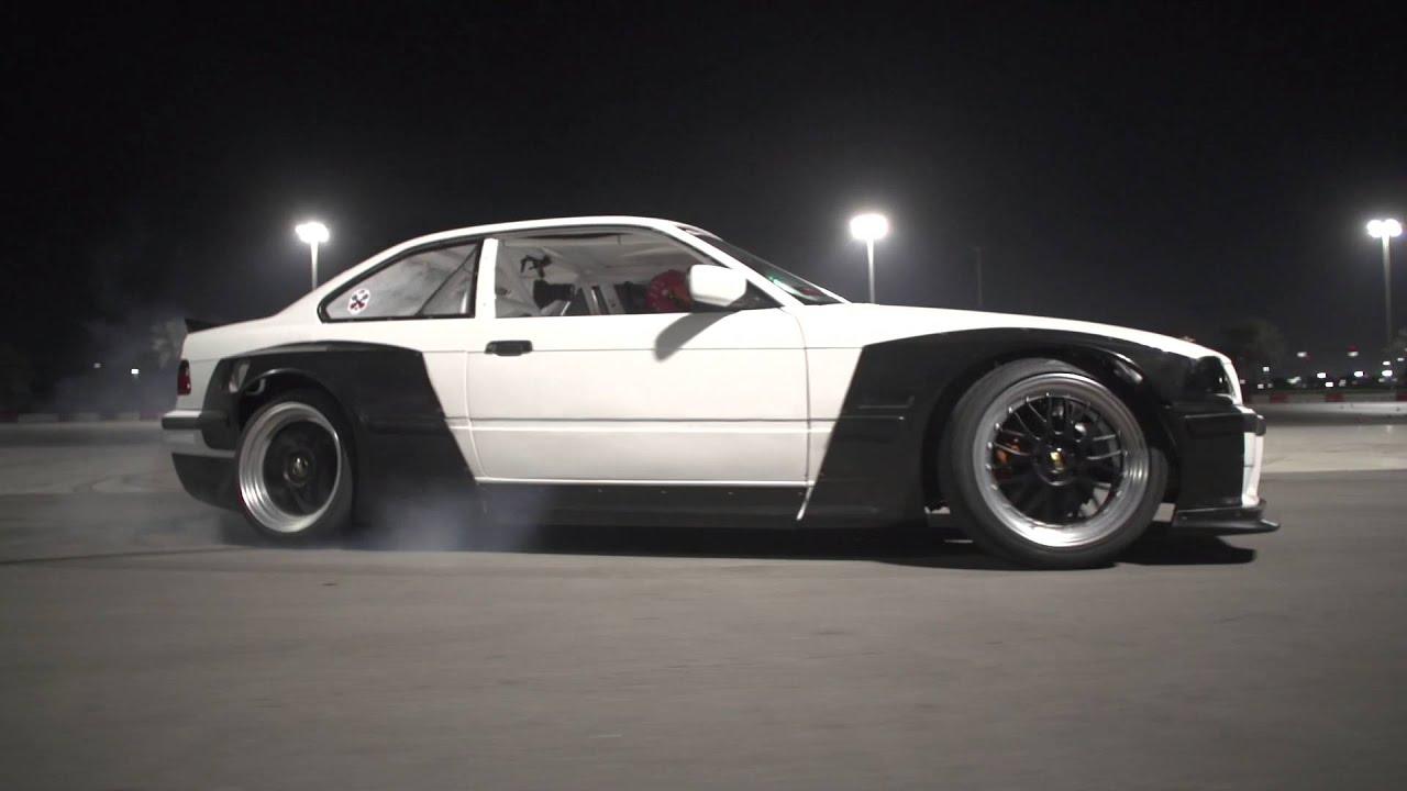 Pandem Rocket Bunny 2jz Powered BMW e36 - Yas Drift Night- SimonMotorSport  - Folge 159