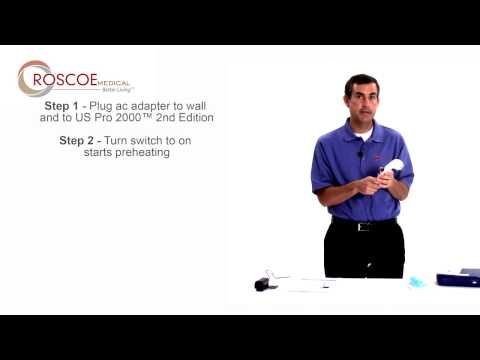 US Pro 2000 Second Edition   How To Operate   Roscoe Medical