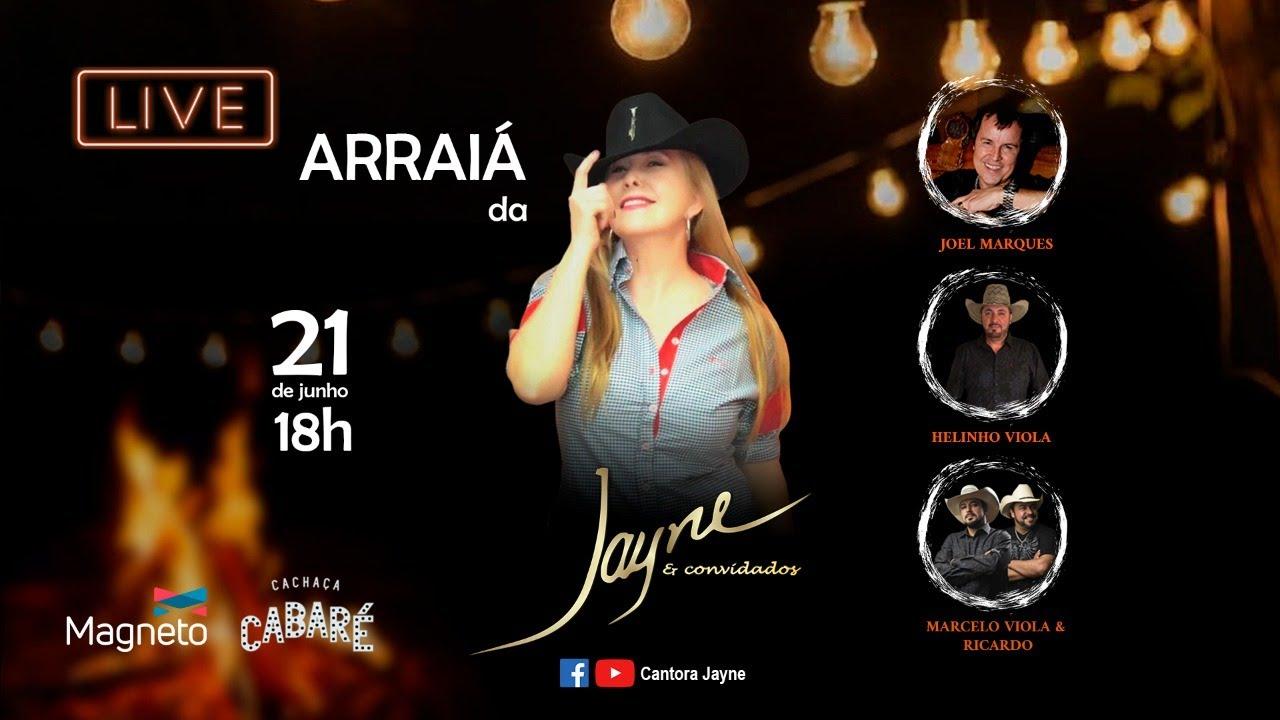Live Arraiá da Jayne & Convidados