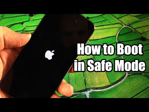 How to Boot in Safe Mode - iPhone, iPod, iPad