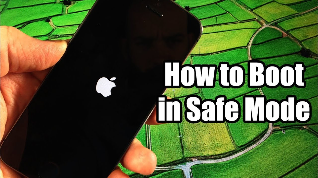 how to boot in safe mode iphone ipod