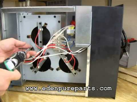 sensor fan youtube rh youtube com Circuit Diagram EdenPURE Heater Parts Diagram