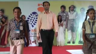 Mission Shoes- 1 Ramp Walk By Nipa Patel & Dr. Dhaval Patel