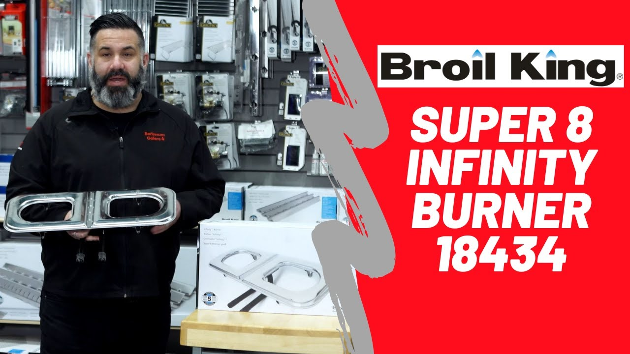 Broil King 18432/ Infinity Brenner T401 Onward Manufacturing