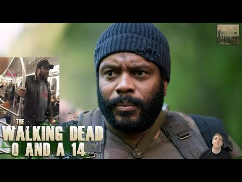 The Walking Dead Season 6 T2 Q and A 14 - Chad Coleman's Train Rant