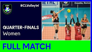 Eczacibasi VitrA ISTANBUL vs. Unet e-work BUSTO ARSIZIO - CEV Champions League Volley 2021 Women QF
