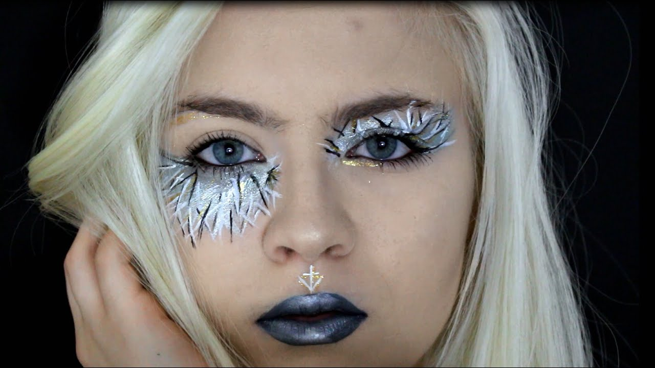 Avant Garde Makeup Tutorial Itskristle Youtube