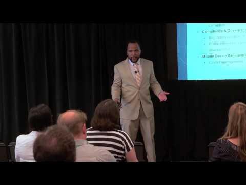 SenecaGlobal's Maurice White on Enterprise Mobility - TechWeek 2014