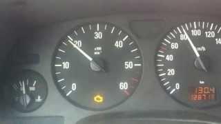 Opel astra G Voyant moteur orange allumé - Orange engine light on
