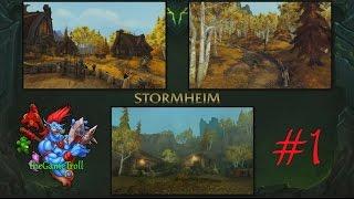 WoW LEGION - Stormheim Quests Part 1 - Druid Gameplay