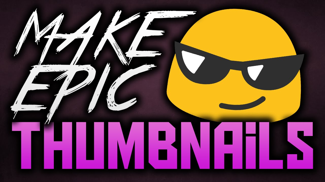 Make Thumbnails For YouTube Videos With Photoshop 2015/2016 ...