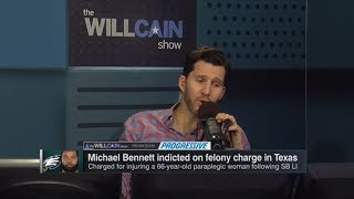 Will Cain on Michael Bennett felony charge: