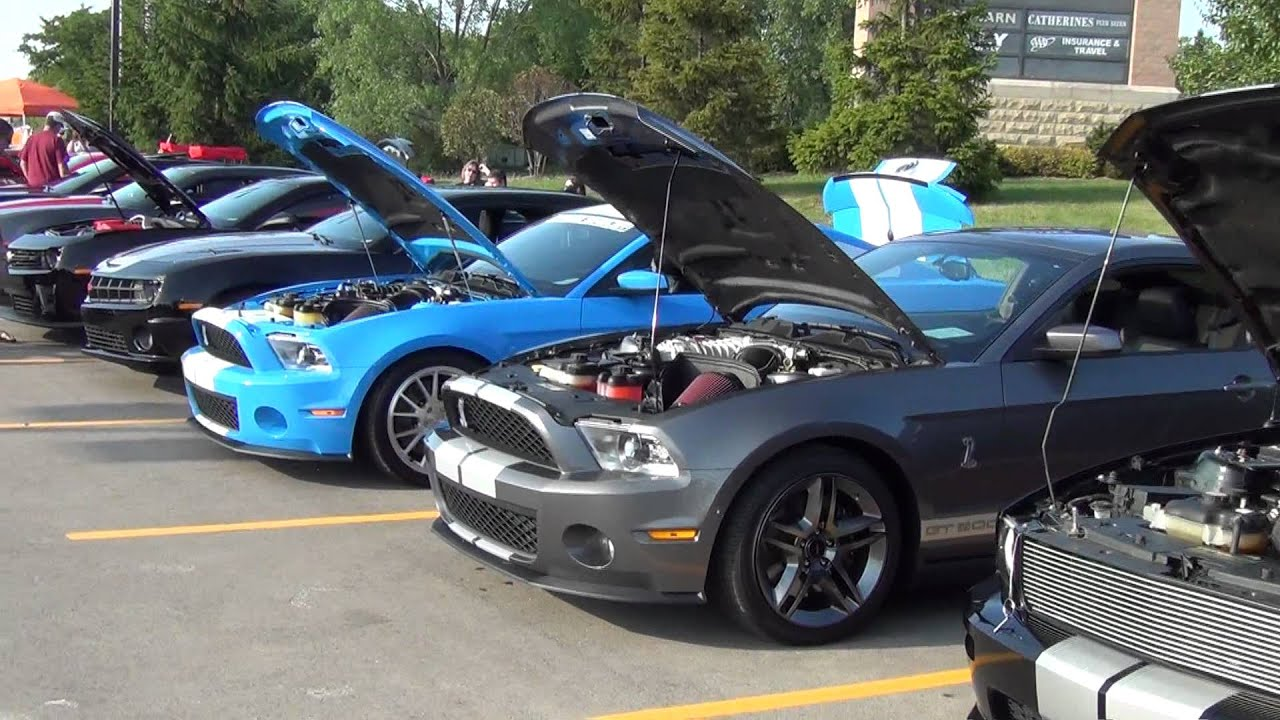 Modern Muscle Car Show