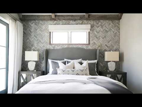 White Herringbone Wood Wall - How To Install A Wood Accent Wall - Woodwol Wall Boards