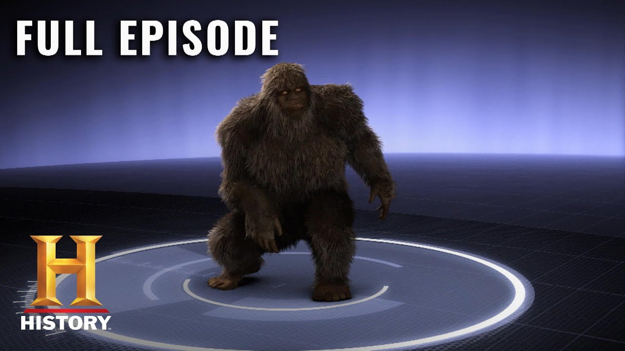 Download MonsterQuest: SASQUATCH ATTACK PROVEN BY DNA (S2, E20) | Full Episode | History