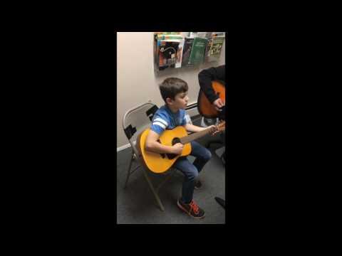 Valencia School of Music - Jingle Bells (Guitar)