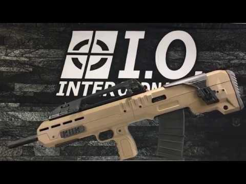 Inter Ordnance Announces IO XB 12 ga Bullpup Shotgun (VIDEO)