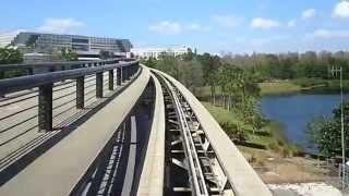 Tram-ride at Orlando International Airport