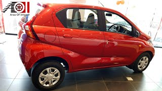 New Datsun Redi-Go 0.8L T(O) | Ruby Red | Price | Mileage | Features | Specs | Walkaround | Interior