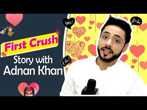 """First Crush Story"" #11 With Kabir Aka Adnan Khan  From Ishq Subhan Allah  Exclusive"