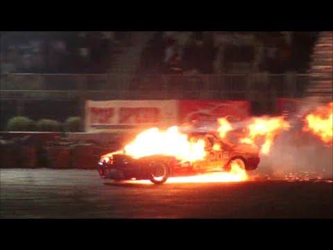 Tuned Nissan Skyline Drifting Amp Catches Fire Memts 2014