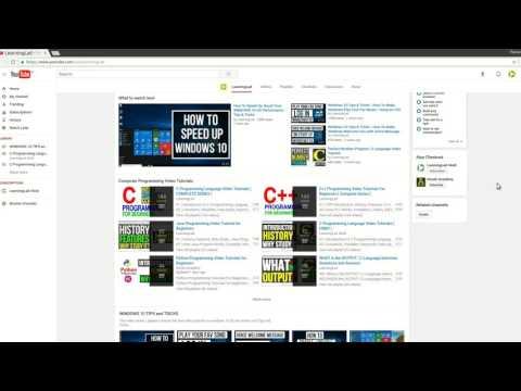 LearningLad Education | Free Video Tutorials on Computer
