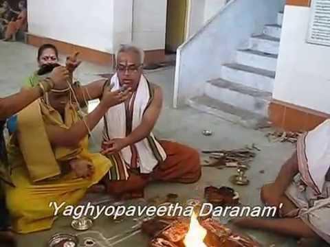 Upanayana of Chi Aaditya,Chi Madhu