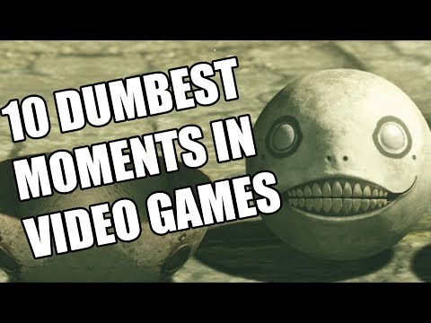 10 Dumbest Moments In Video Games That We Were Totally Okay With