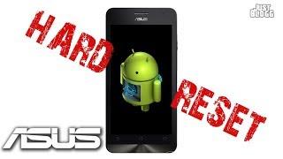Сброс к заводским настройкам на Asus Zenfone hard reset 2 способа