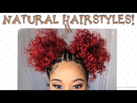 Natural Hairstyles  Braid style